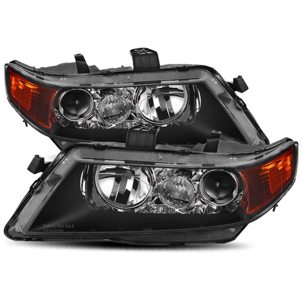For 2004 2005 2006 2007 2008 Acura TSX Black Factory Style