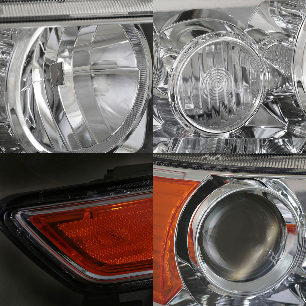 For 2004 2005 2006 2007 2008 Acura TSX Chrome Projector