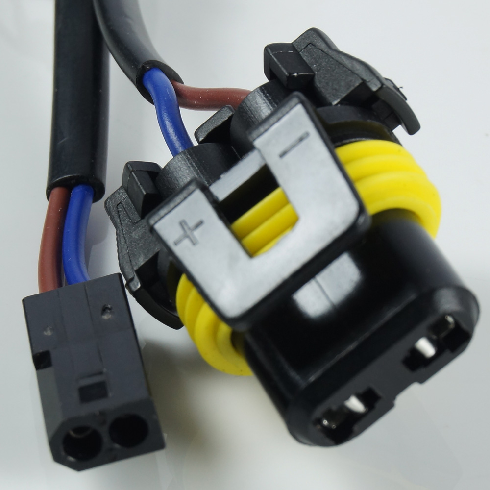 2pc 9007 Hb5 Easy Relay Harness Hi Lo Bi Xenon Hid Conversion Kit Wiring Diagram Free Picture Shipping Charge