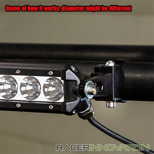 2pc 3 off road led light bar bull barroll barroof rack mounting 2pc 3 034 off road led light bar aloadofball Gallery