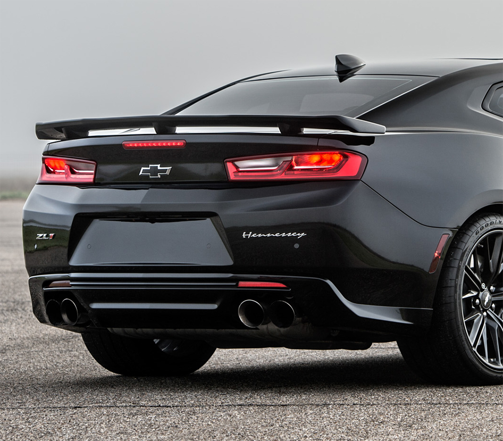 2019 Chevrolet Camaro Zl1: For 2016-2019 Chevy Camaro ZL1 Style Black Flush Mount